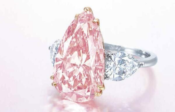 This 9.38 carat Fancy Intense pink diamond...http://www.julify.com/