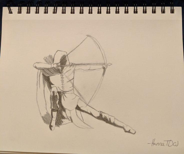 New drawing for Ranger's Apprentice