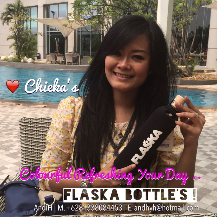 Thank You Beloved Chieka! ❤️ FLASKA ! Your Portable Water Spring Water Structuring Glass Bottle Binding Water Molecules Perfectly ...  From The FLASKA Bottle You Will Get Healthy Mineral Water To Consume In Your Daily Activities ..  a. Two Size Of Bottles • 0.5L / 500ml • 0.75L / 750ml b. One Jug Size ( 1L ) Test & Compare With Your Mineral Water How It Feel & Taste .. Flaska Is Fresh ! Flaska Your Portable Water Spring   Further Info: AndiH M/WA. +6281338084453 E. andhyh@hotmail.c