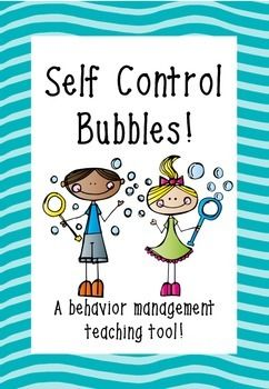 Self Control Bubbles - A behavior management teaching tool! Self Control Bubbles are an easy and effective teaching tool to use in any classroom. All you need is some dollar store bubbles! This file contains an explanation of how to implement this strategy, a label for your Self Control Bubbles, and 3 simple recording sheets.