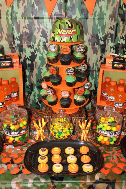 Nerf Birthday Party Ideas   Photo 8 of 13