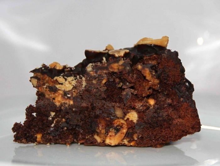 Snickerstaart recept - Taart - Eten Gerechten - Recepten Vandaag