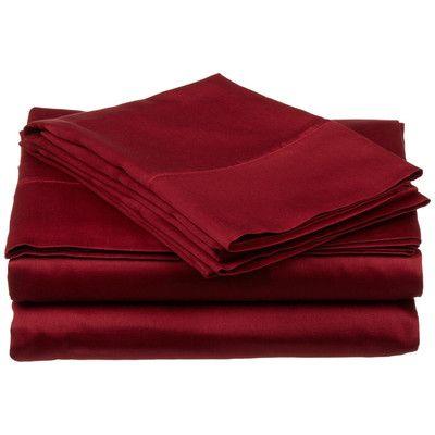 Simple Luxury Superior 800 Thread Count Premium Long-Staple Combed Cotton Sheet Set