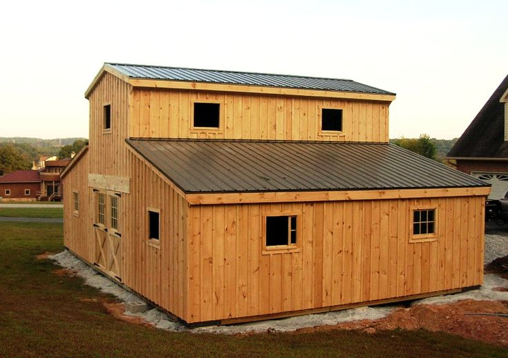 Beautiful Barn Style Garage Plans for Free