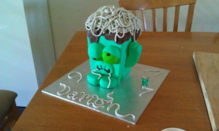 Trashie cake