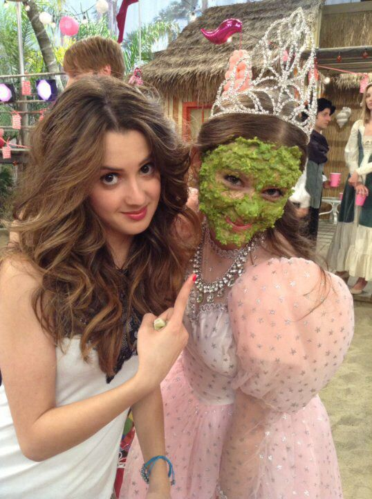 Laura marano and carrie wampler i believe not fully sure for Carrie wampler