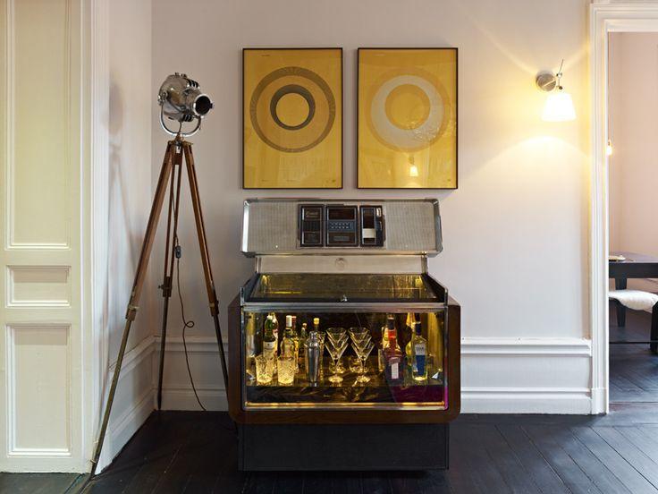 Jukebox X Whisky Bar Minale Architects Sodermalm Penthouse