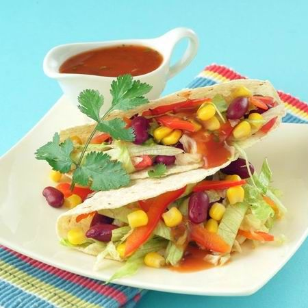 Gyors zöldséges taco Recept képpel - Mindmegette.hu - Receptek