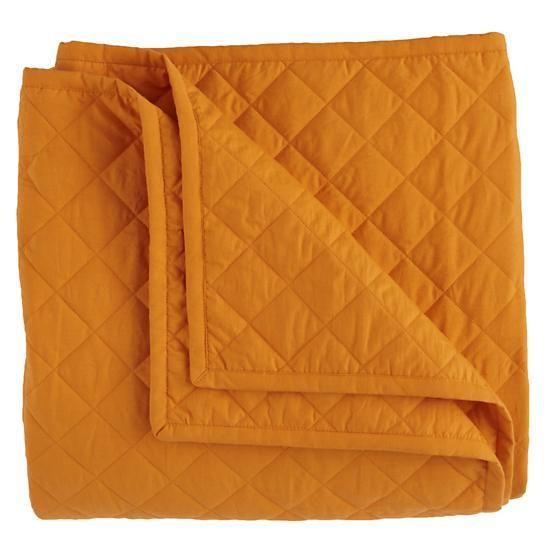 #NodWishlistSweeps - Land of Nod's Full-Queen Moving Blanket (New Orange)