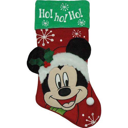 Accesorio de Navidad: Bota Navideña de Mickey Mouse.