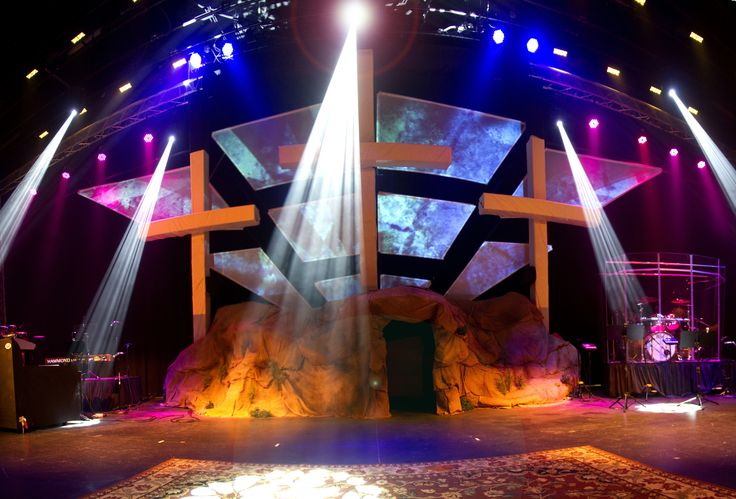Easter Church Stage Ideas In Church Production Church