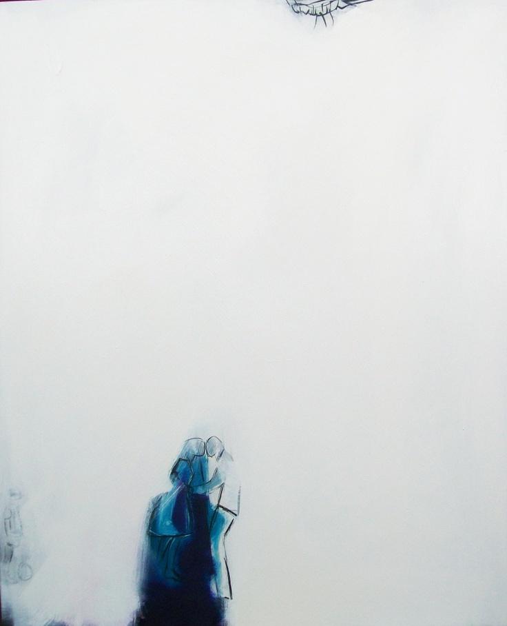 ALEJANDRO NARANJO. DE LA SERIE LLUVIA. LA VIDA N 14. 120 X 100 CMS. OIL ON CANVAS. 2012.