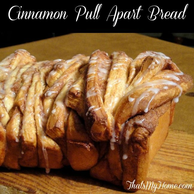 Cinnamon Pull Apart Bread from Recipes, Food and Cooking