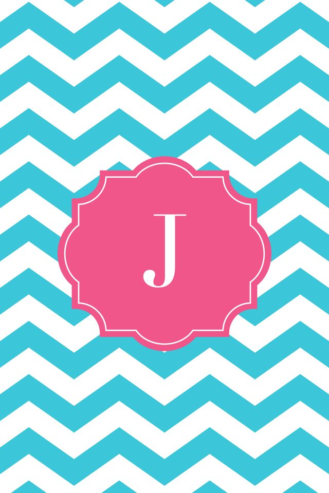 gallery for chevron background with monogram j