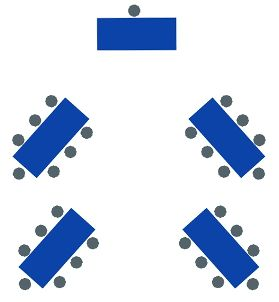 Awesome diagrams for party table arranging and how may people a ...