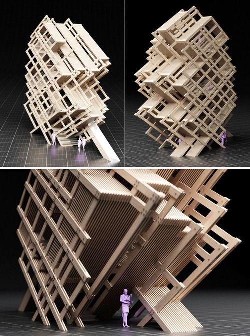 9 mejores im genes de maquetas conceptuales en pinterest maquetas abstracto y arquitectura. Black Bedroom Furniture Sets. Home Design Ideas