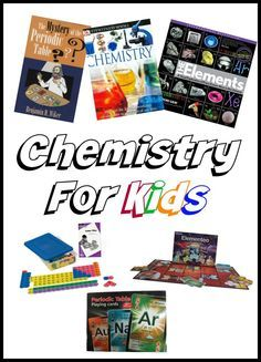 Teaching Chemistry to Kids - lots of resources listed
