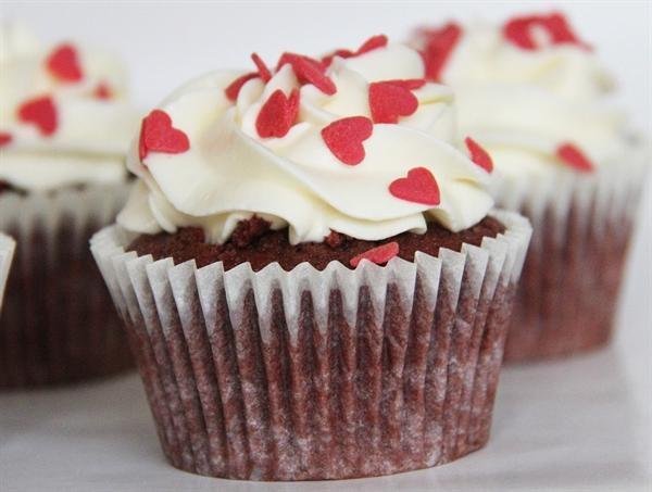 Cupcake opskrift Red Velvet