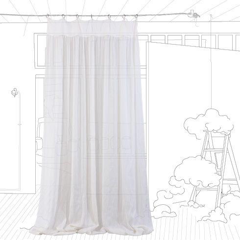 inspiration rideaux brise vue d co maison pinterest. Black Bedroom Furniture Sets. Home Design Ideas