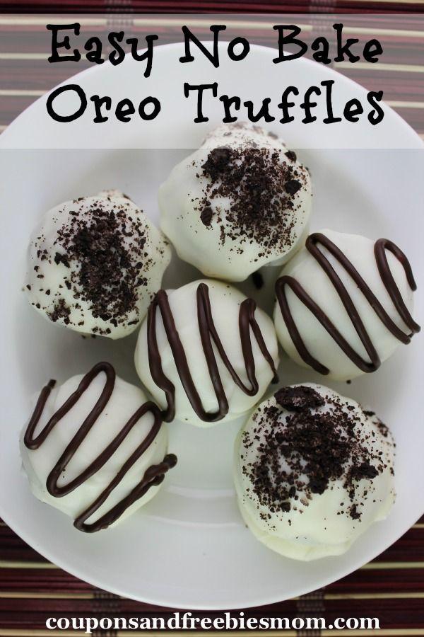 Easy No Bake Oreo Truffles