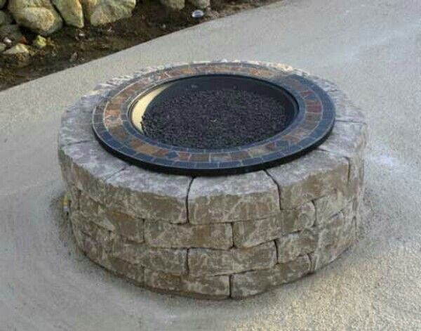 Portable Outdoor Fire Pit Lowes : Fire Pit Designs