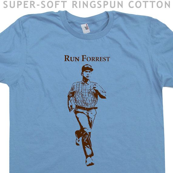 Running T Shirt Runner T Shirt Run Forrest Funny T by Shirtmandude