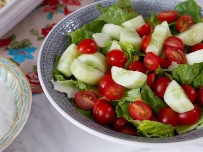 Mixed Green Salad with Roquefort Dressing Recipe | Trisha Yearwood | Food Network
