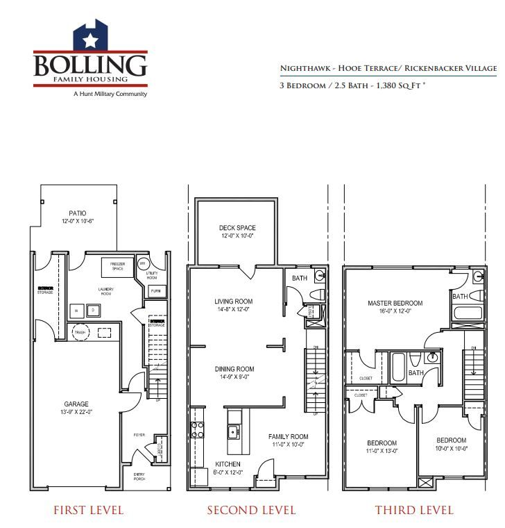 Jbab Rickenbacker Neighborhood Nighthawk Floor Plan 3 Bedroom