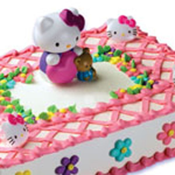 Hello Kitty Stamper DecoSet Deco Pac Cakes T Cake