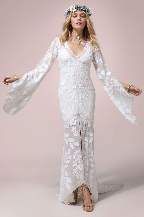 Zeppelin Gown   Rue De Seine Wedding Dress Collection