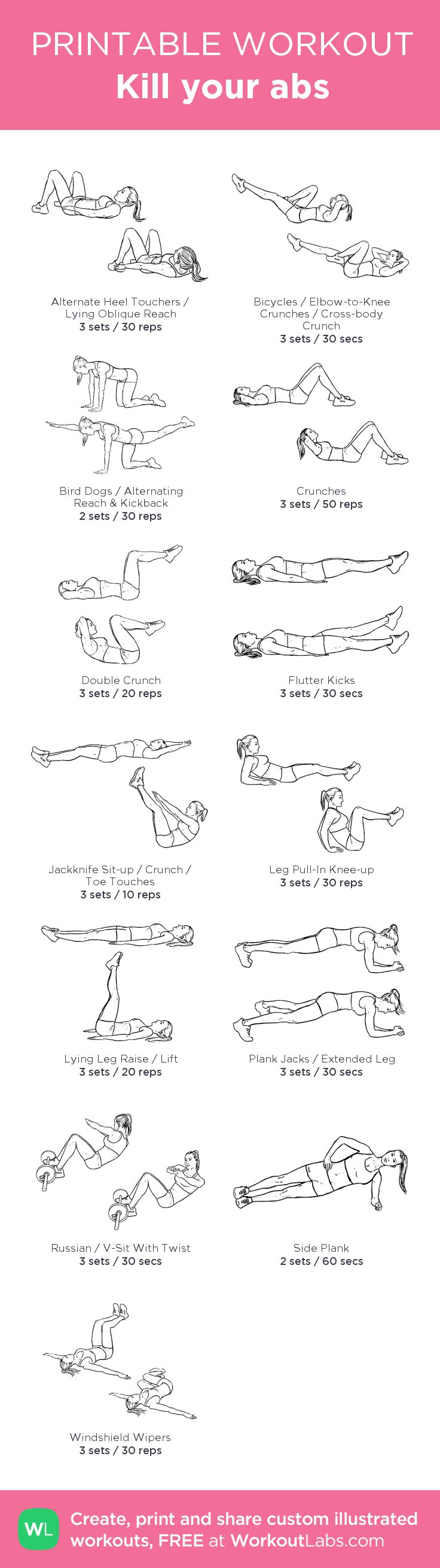 the best workout routines pdf download