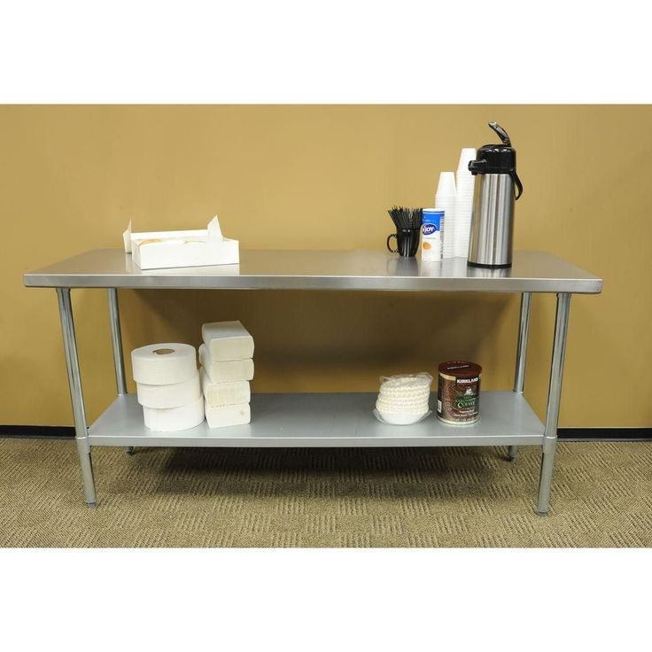 17 best ideas about stainless steel work table on pinterest