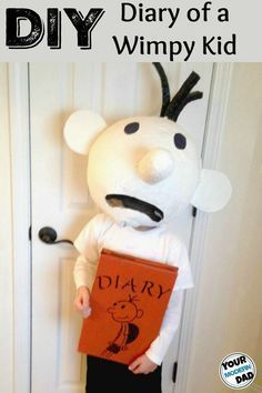 1524 best halloween kids images on pinterest happy for Diary of a wimpy kid crafts