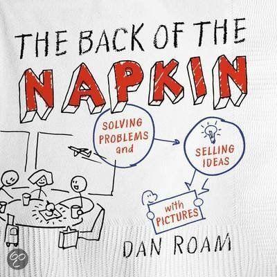 BOEKENTIP Ideeën visualiseren door sketches, zelfs als je niet kunt tekenen! Ben benieuwd ... The Back of the Napkin - Dan Roam