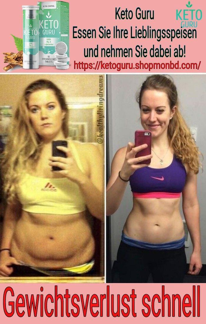 Wie man in ein paar Tagen schnell Gewicht verliert
