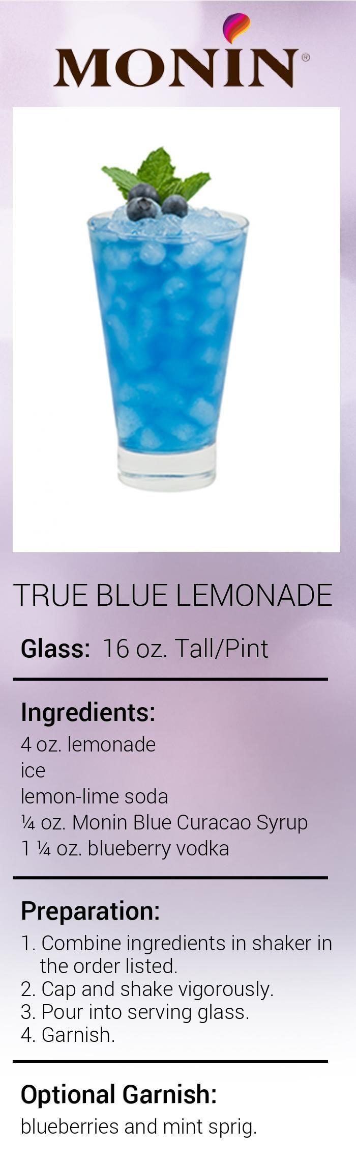 True Blue Lemonade