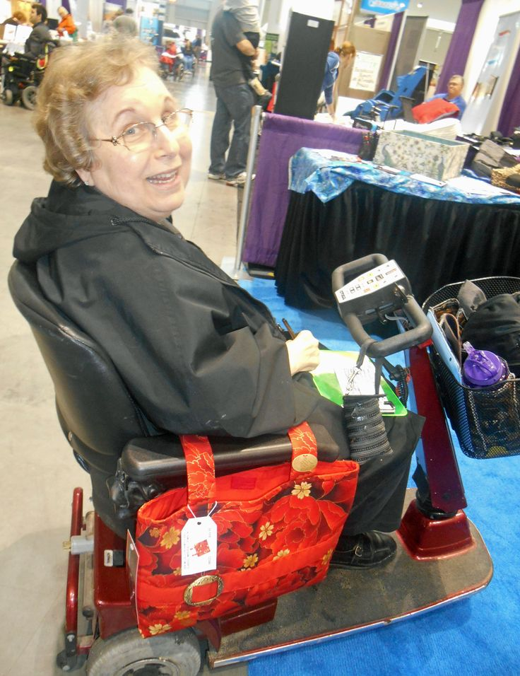 Mobility Bags: Wheelchair, Power Chair & Walker Accessories, CarryAll Bags for Mobility Devices