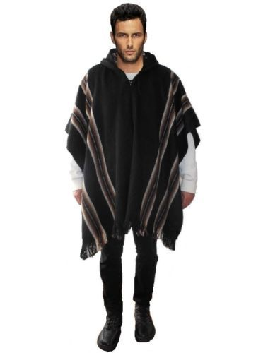 les 25 meilleures id es de la cat gorie poncho homme sur pinterest hommes poncho shirt. Black Bedroom Furniture Sets. Home Design Ideas