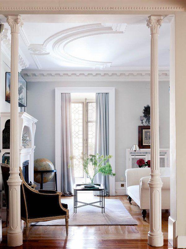 Las 25 mejores ideas sobre molduras de techo en pinterest for Molduras para decorar puertas