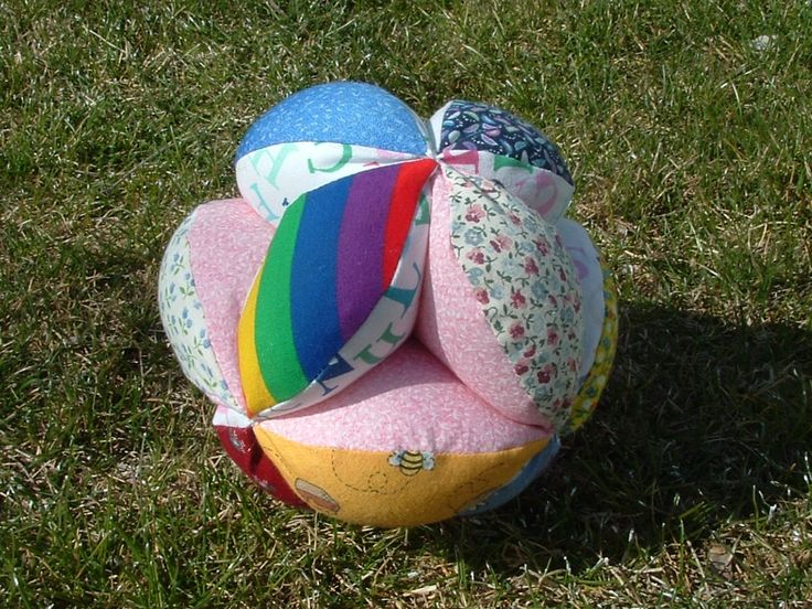 how to make a fabric ball