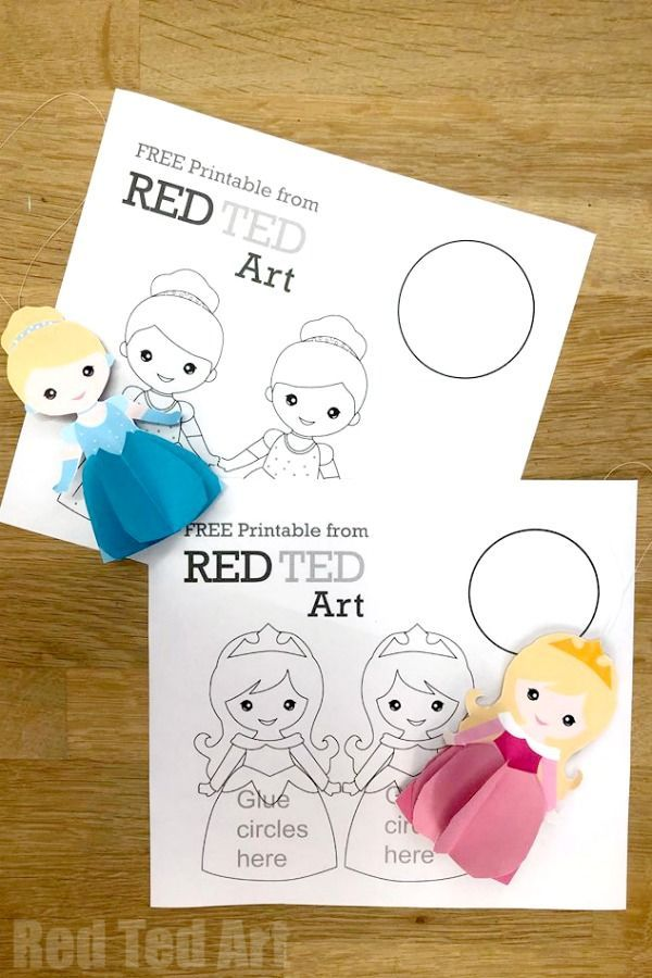 3d Princess Paper Doll Colouring Pages Red Ted Art Make Crafting With Kids Easy Fun Princess Paper Dolls Princess Coloring Pages Paper Dolls