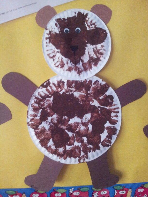 Teddy Bear Preschool Craft B week