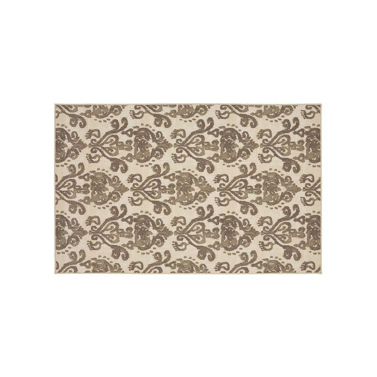 Mohawk® Home Bali Damask Rug, Grey (Charcoal), Durable