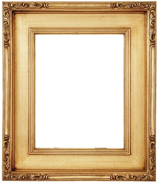 Straight edge frames for British office /Curvy, ornate