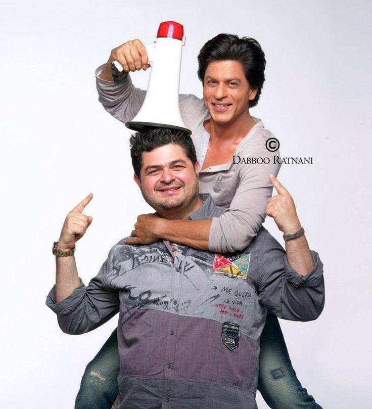 Shahrukh and Dabboo Ratnani