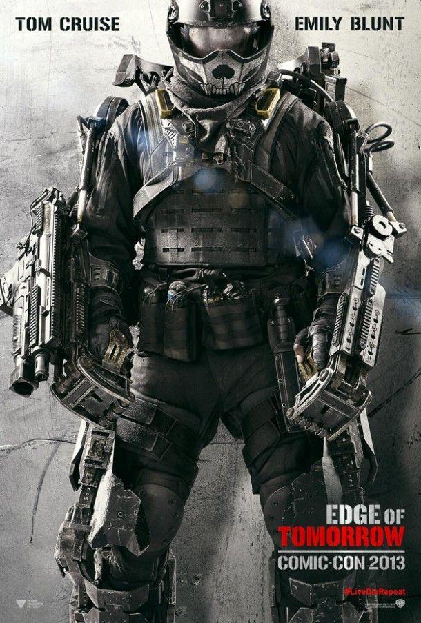 Edge Of Tomorrow Muestra Su Poster De Cara A La Comic Con Edge Of Tomorrow New Poster Tom Cruise