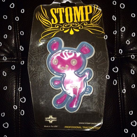 Stomp Snow Snowboarding stomp Pad Bear NEW Stomp Snow Stomp Pad Bear NEW Make a reasonable offer and ask about bundle deals!!  Stomp Snow Accessories
