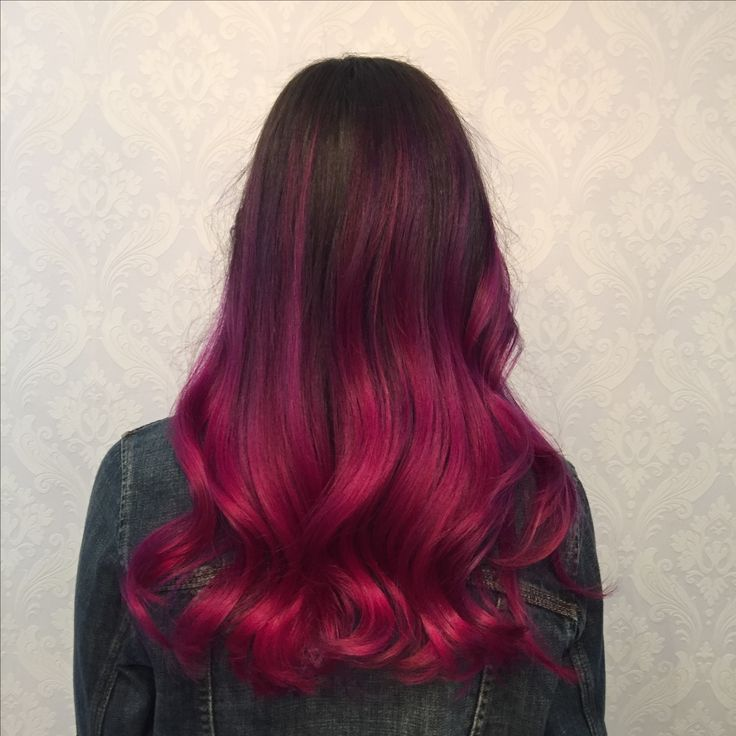 Killer curls with a splash of wild orchid and violet!