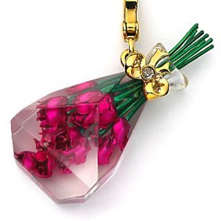 Juicy Couture Charm~ bouquet of pink roses