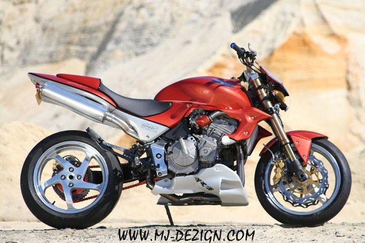 tuning honda hornet 600 n mj dezign roadster moto pinterest honda and hornet. Black Bedroom Furniture Sets. Home Design Ideas